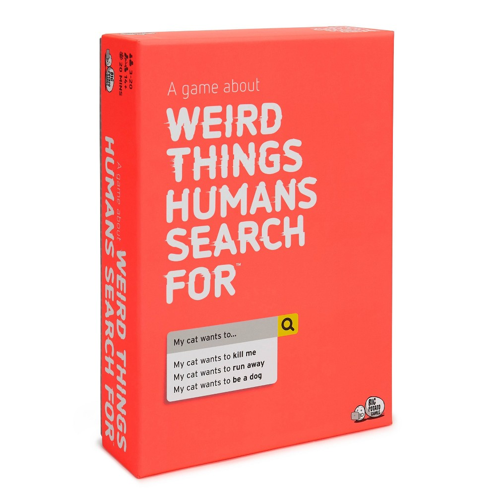 Weird Things Humans Search For Board Game