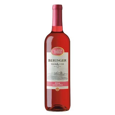 Beringer Pink Moscato Wine - 750ml Bottle