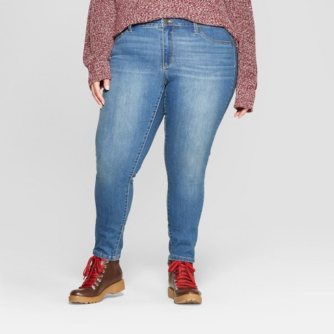 f0d70a11297723 Women's Plus Size Jeggings - Universal Thread™ Medium Wash : Target