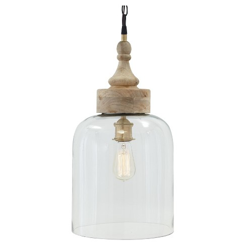 Faiz LED Pendant Light Transparent - Signature Design by Ashley - image 1 of 4