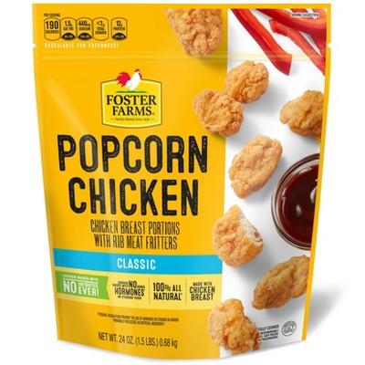 Foster Farms Popcorn Chicken - Frozen - 24oz