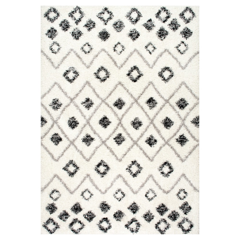 Sterling Gray Solid Loomed Area Rug - (7'10x10') - nuLOOM, Grey