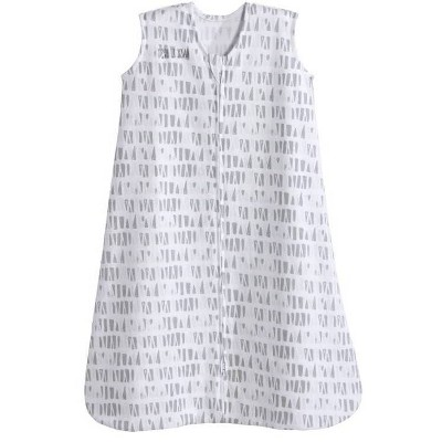 Halo Sleepsack 100% Cotton Squares and Triangles - Gray L