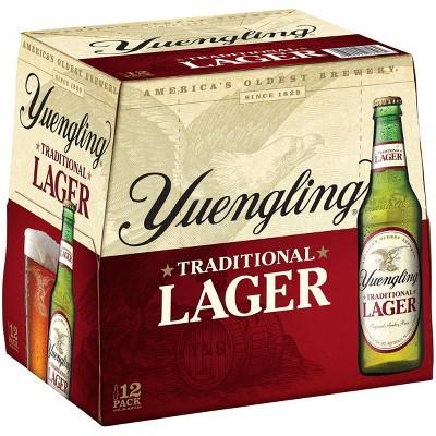 Yuengling Traditional Lager Beer - 12pk/12 fl oz Bottles
