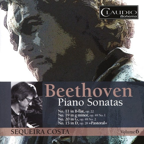 Sequeira costa - Beethoven:Piano sonatas vol 6 (CD) - image 1 of 1