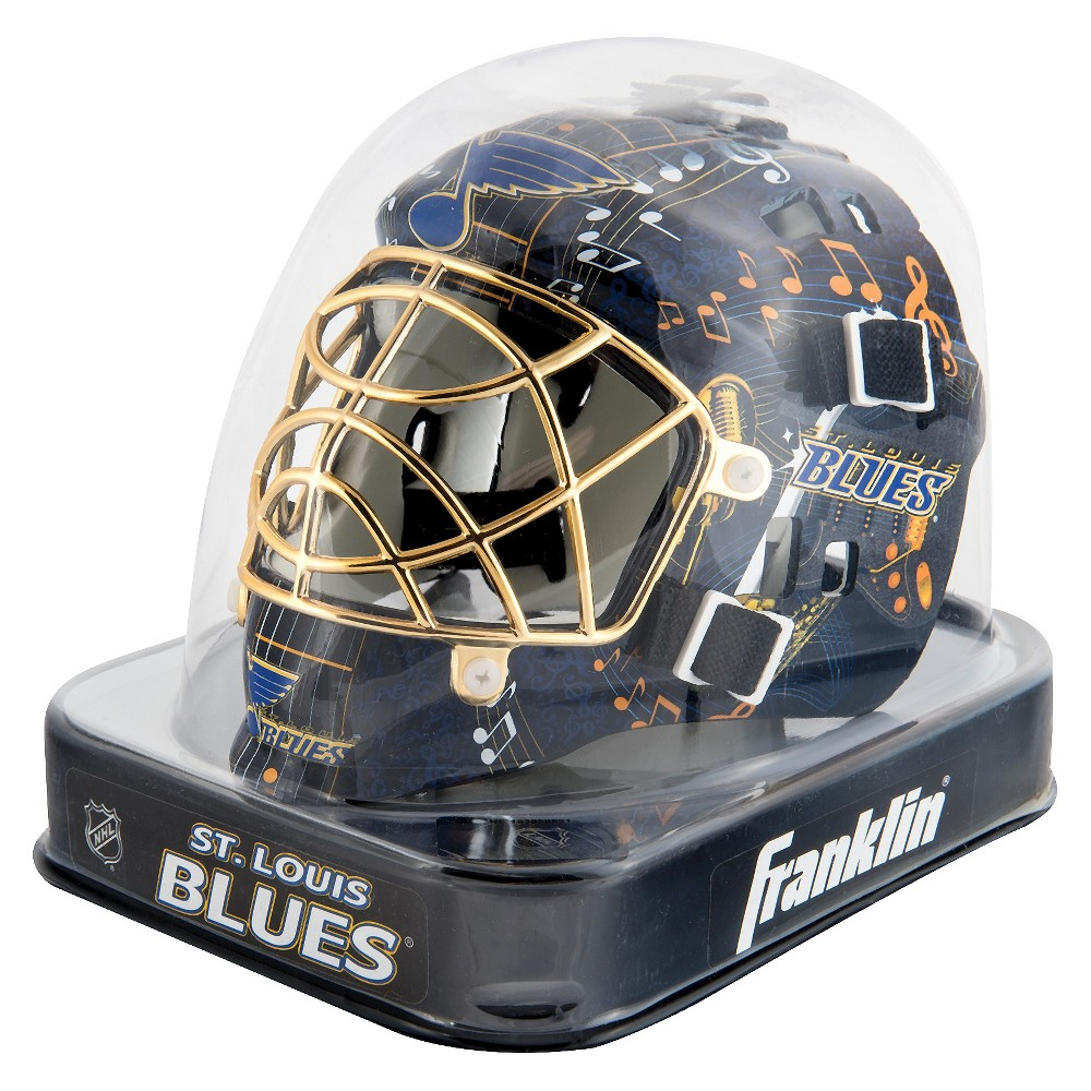 Franklin Sports NHL St. Louis Blues Mini Goalie Mask