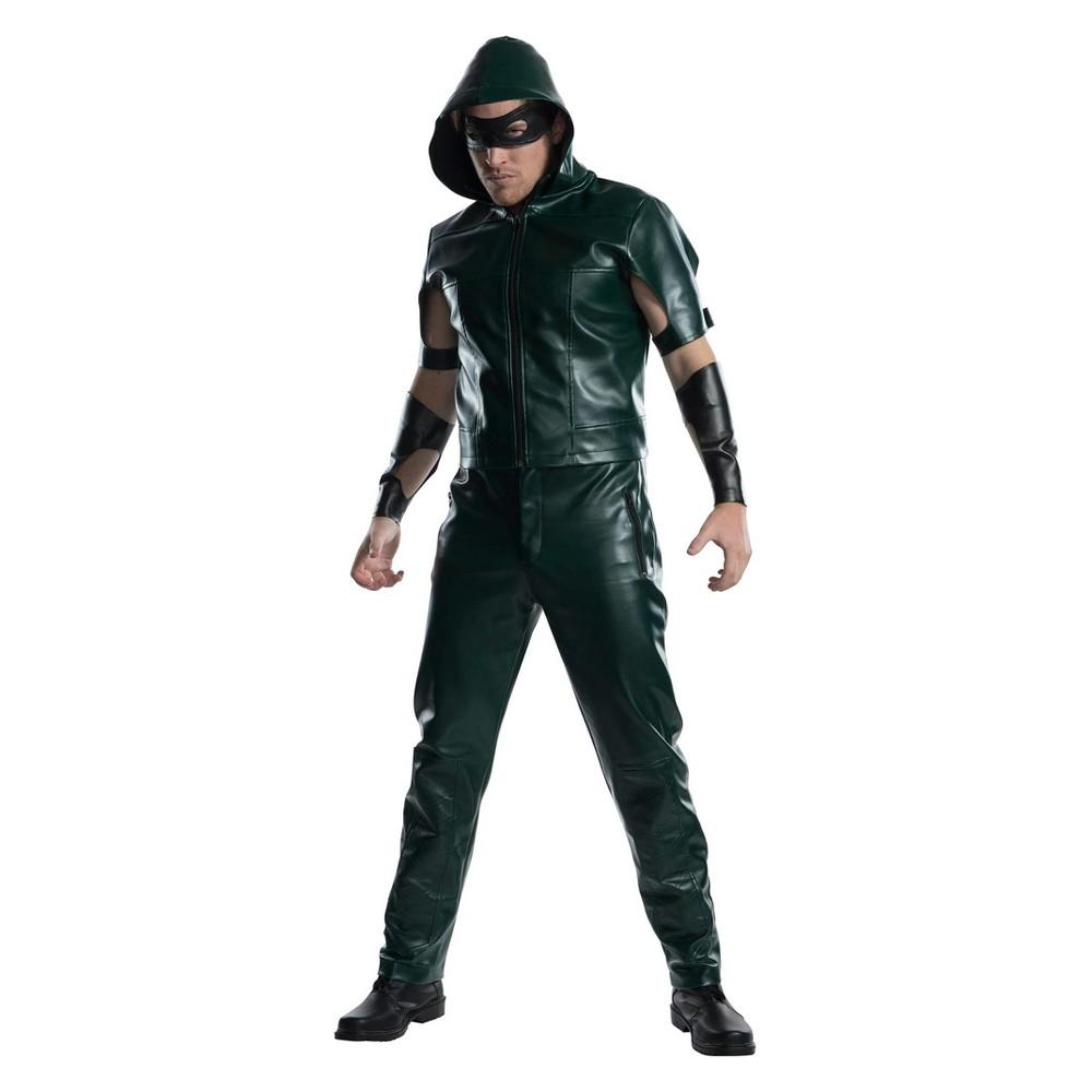 Men's DC Comics Green Arrow Halloween Costume L