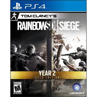 Tom Clancy's Rainbow Six Siege Year 2 GOLD Edition PlayStation 4