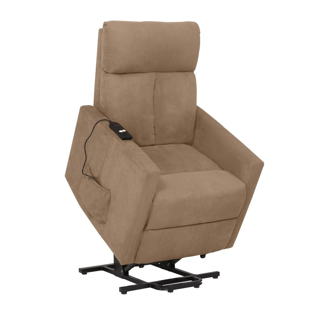 Power Lift Chair Recliner - Brown- Prolounger, Brown