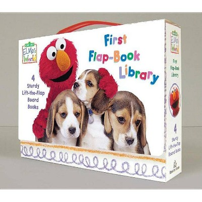 Elmo's World: First Flap-Book Library (Sesame Street) - (Sesame Street(r) Elmos World(tm)) (Mixed Media Product)