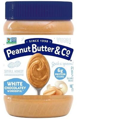 Peanut Butter & Co White Chocolate Wonder Peanut Butter - 16oz