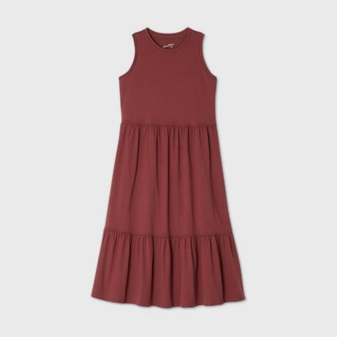 Women's Tiered Tank Dress - Universal Thread™ - image 1 of 1