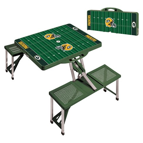 Nfl Green Bay Packers Portable Picnic Table By Time