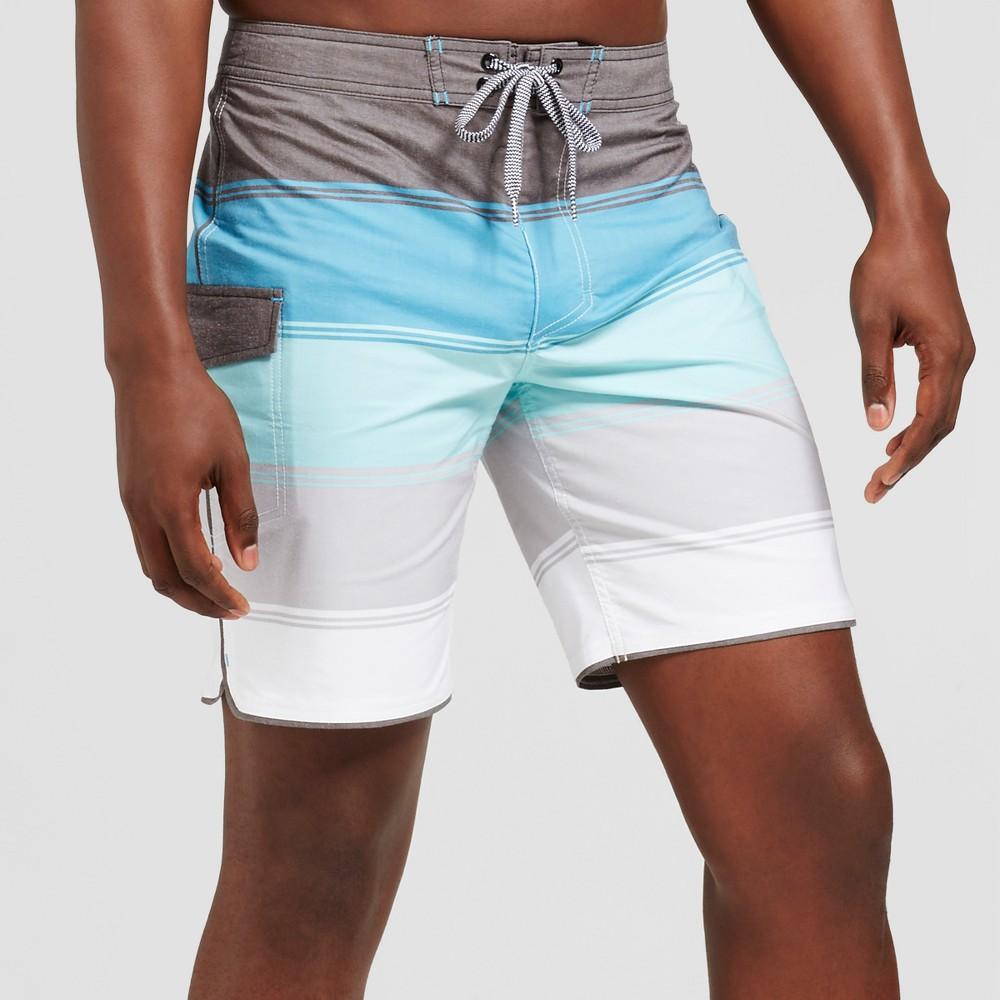 Men's 8.5 Quintant Board Shorts - Goodfellow & Co Blue 30
