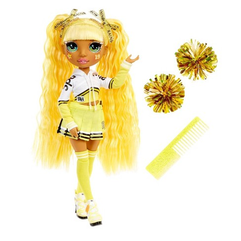Rainbow HighCheer Sunny Madison - YellowFashion Dollwith Cheerleader Outfit andDoll Accessories - image 1 of 4