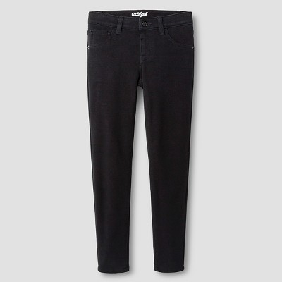 Girls' Soft Mid- Rise Jeggings - Cat & Jack™