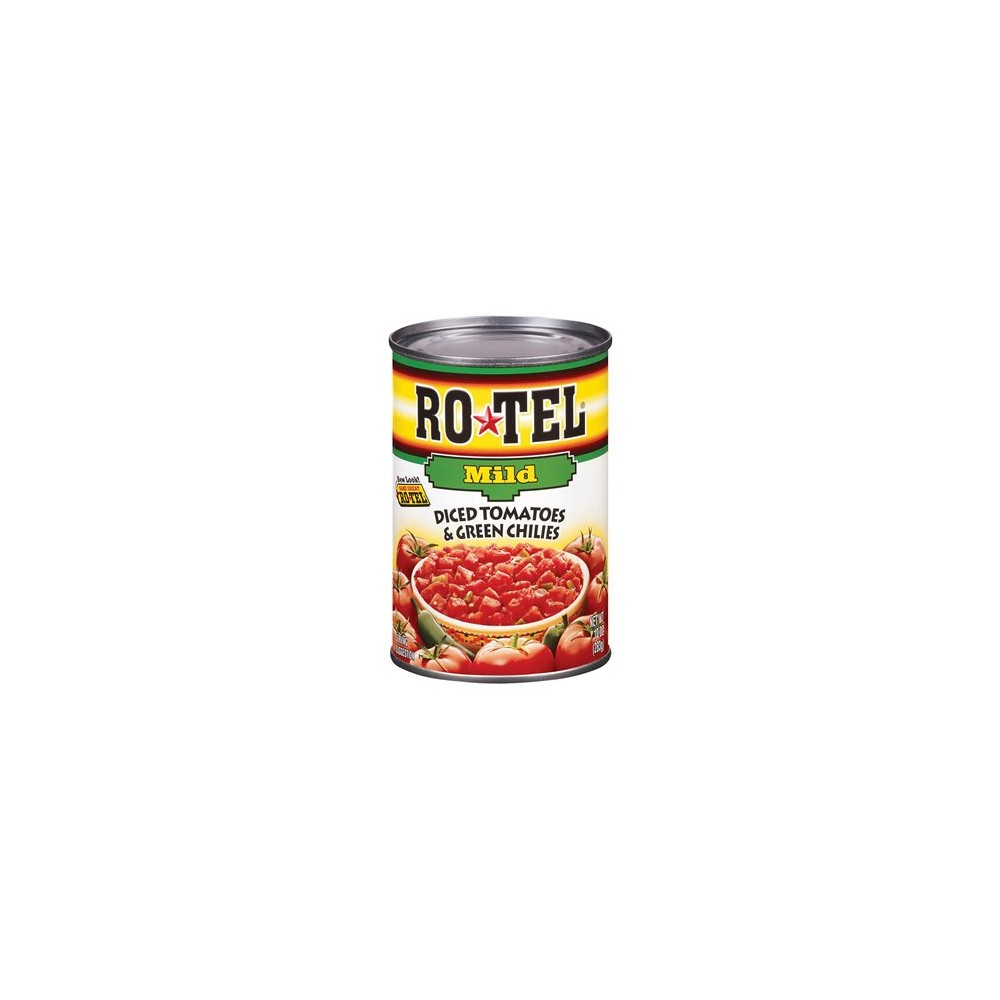 Rotel Diced Tomatoes & Green Chilies Mild 10oz