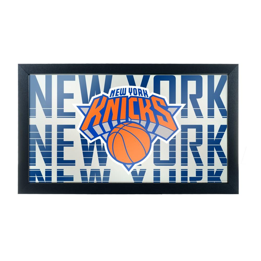 NBA New York Knicks City Framed Logo Mirror