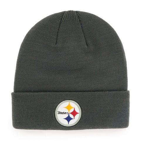 NFL Pittsburgh Steelers Cuff Knit Beanie By Fan Favorite   Target 0a82b85d1