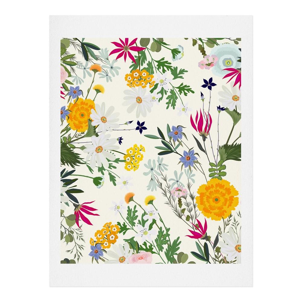 "Image of ""11""""x14"""" Iveta Abolina Bretta Art Print Unframed Wall Poster White - Deny Designs"""
