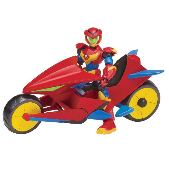 Power Players Axel's Motorcycle with Figure image number null