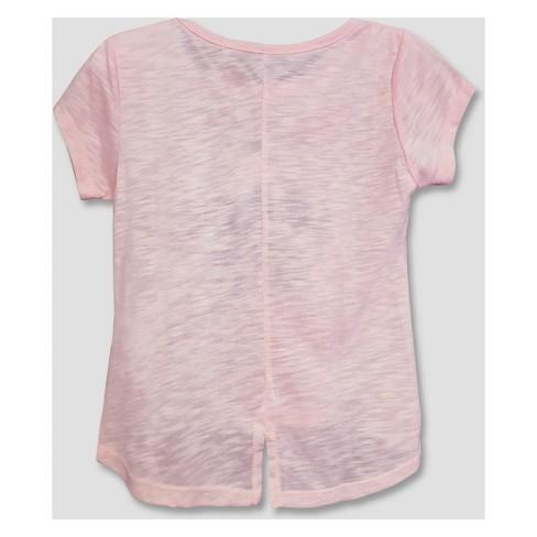 bcd324bf Toddler Girls' Disney Princess Short Sleeve T-Shirt - Pink : Target