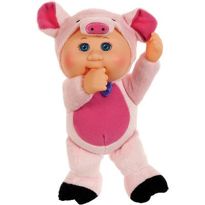 """Jazwares Cabbage Patch Kids Cuties Collection, Petunia The Pig Baby Doll 9"""""""