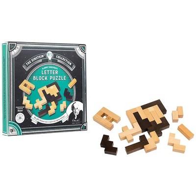 Professor Puzzle The Einstein Collection 12 Challenges Letter Block Puzzle