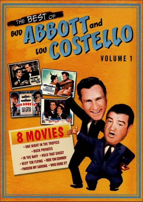 The Best of Bud Abbott and Lou Costello, Vol. 1 [4 Discs] - image 1 of 1