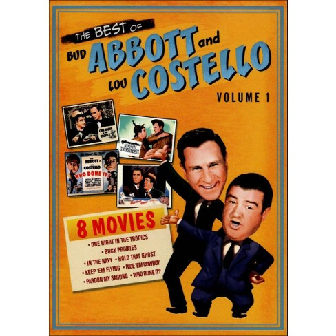 The Best Of Bud Abbott And Lou Costello Vol 1 4 Discs Target