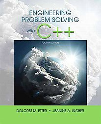engineering problem solving with c++ delores m etter
