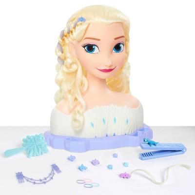 Disney Frozen 2 Deluxe Elsa the Snow Queen Styling Head 17pc