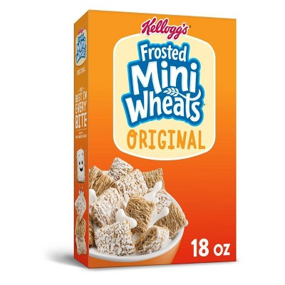 Original Frosted Mini-Wheats Breakfast Cereal - 18oz - Kellogg's