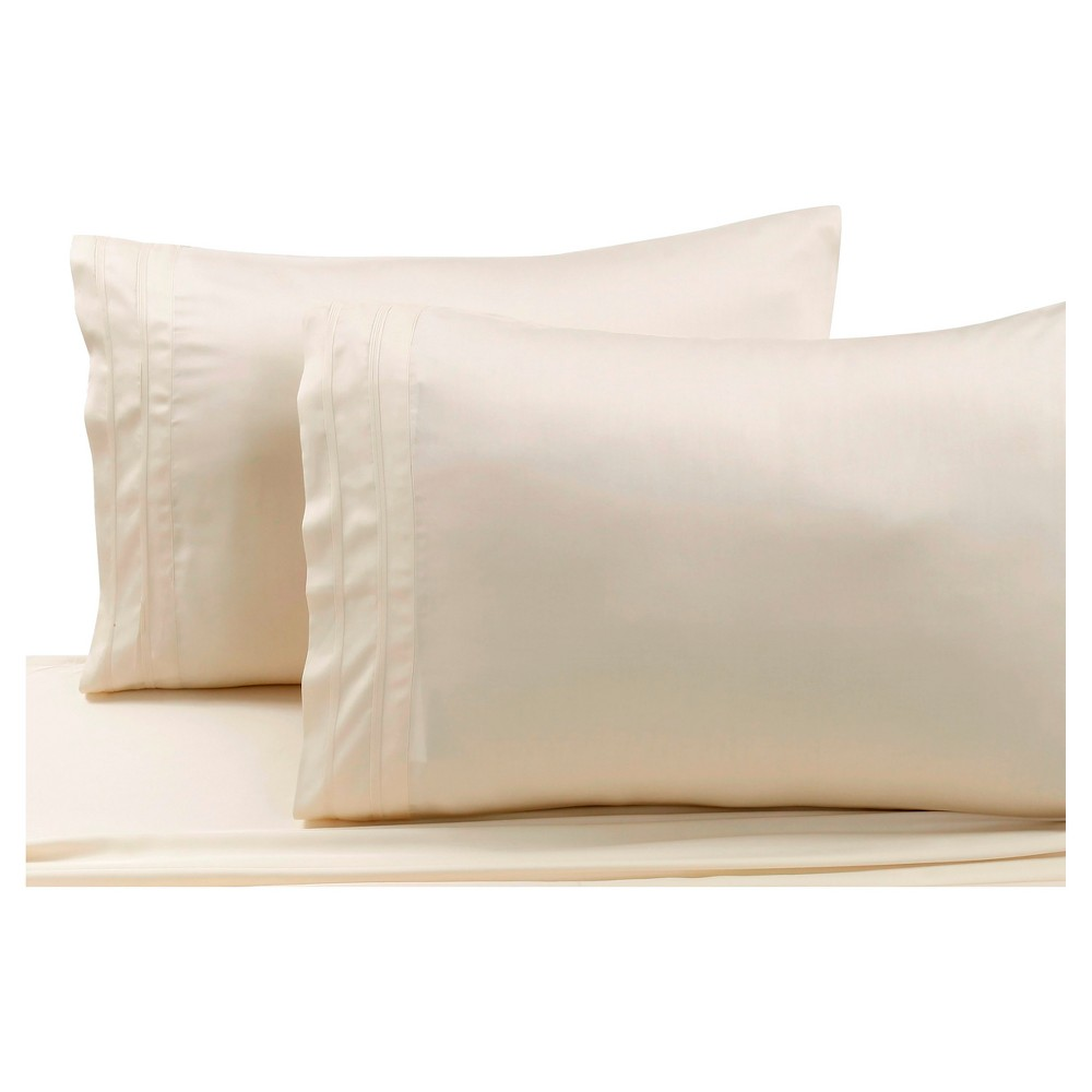 Thread Count Solid Percale Pillowcase
