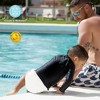 Charlie Banana Reusable Swim Diaper White (Assorted Sizes) - image 2 of 2