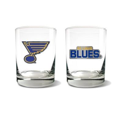 NHL St. Louis Blues Rocks Glass Set - 2pc