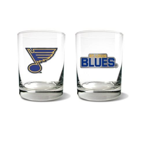 NHL St. Louis Blues Rocks Glass Set - 2pc - image 1 of 1
