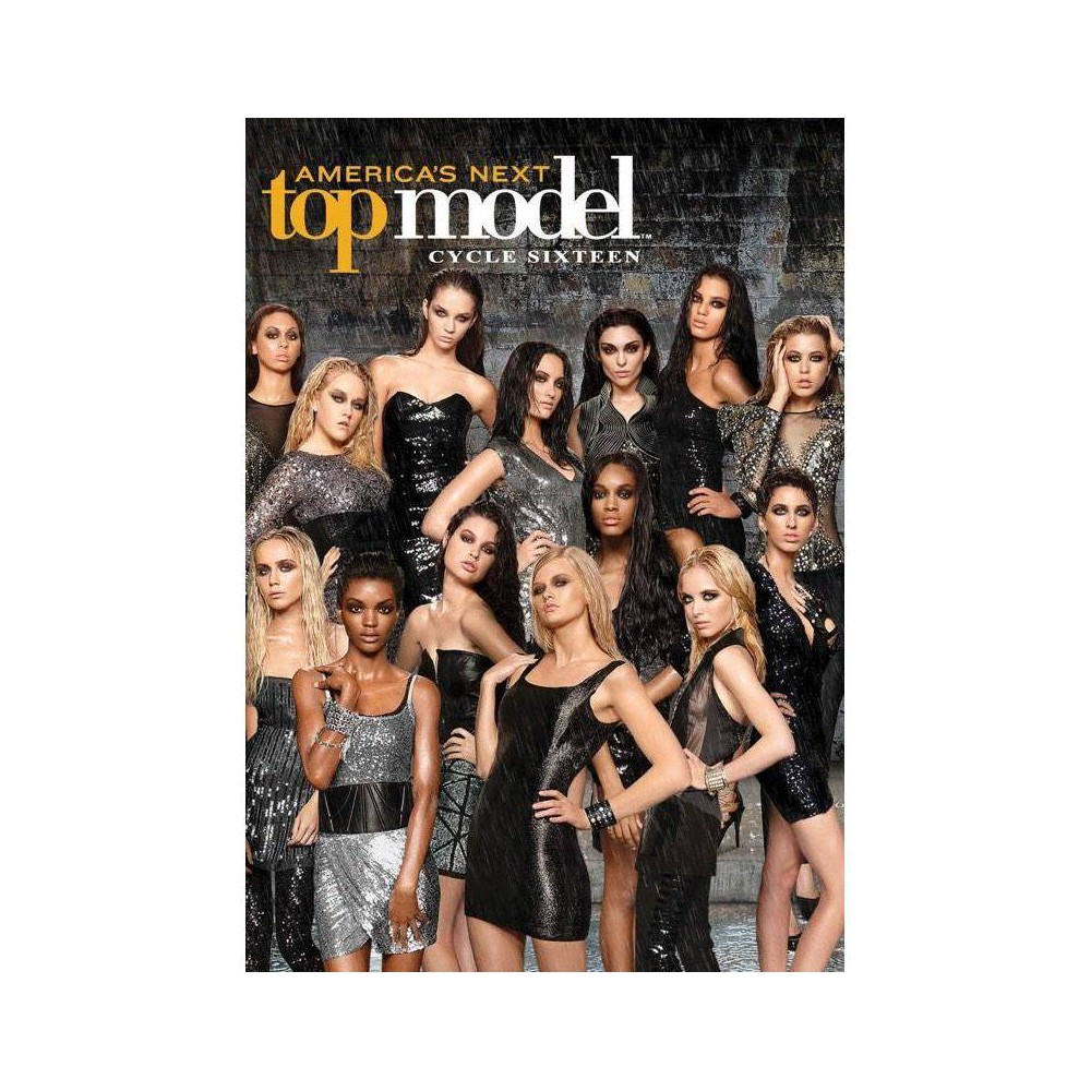 America's Next Top Model: Cycle 16 (Dvd) Themed Rainy Day Women, Cycle 16 of America's Next Top Model offers 14 aspiring women a chance to prove they have what it takes to make it in the high-stress world of modeling. Each week the women are judged on their overall appearance, as well as their participation in fashion, social and business challenges. Cycle 16 challenges include walking inside a plastic bubble on a 12-inch wide runway over water, modeling jewelry while surrounded by bees and posing in a fur collection with a baby jaguar, The international leg, in Marrakech, Morocco, found a unique set of challenges including posing on the back of camels and balancing trays with lit candles on their head! The winner receives a contract with Img Models, a fashion spread in Vogue Italia, cover and spread in Beauty in Vogue, a $100,000 deal with CoverGirl cosmetics and more.