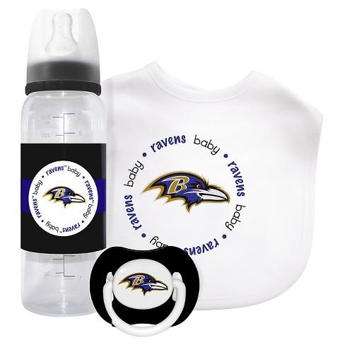 NFL Baby Fanatic 3-Piece Gift Set