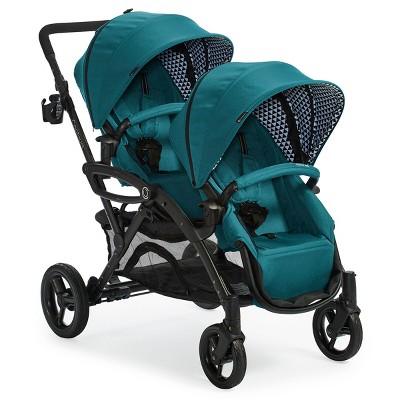 Contours Options Elite Stroller - Aurba Blue