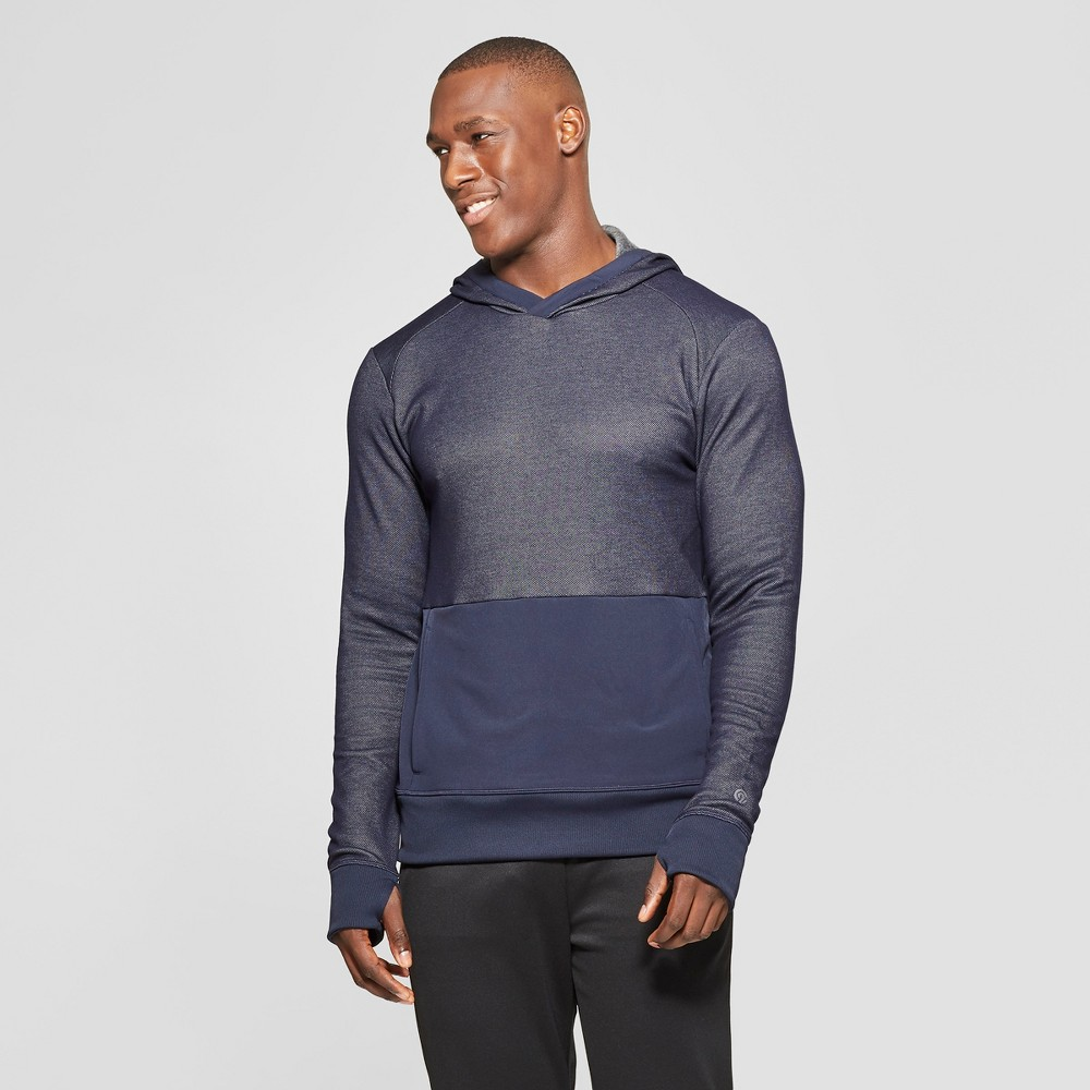 Men's Hooded Sweater Knit Layer - C9 Champion Navy Heather S