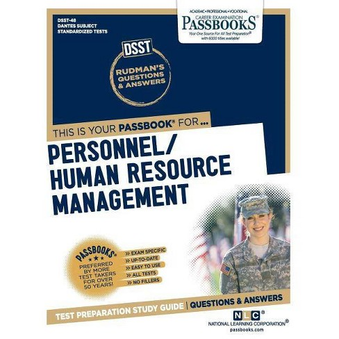 DSST Personnel/Human Resource Management - by National Learning Corporation  (Paperback)