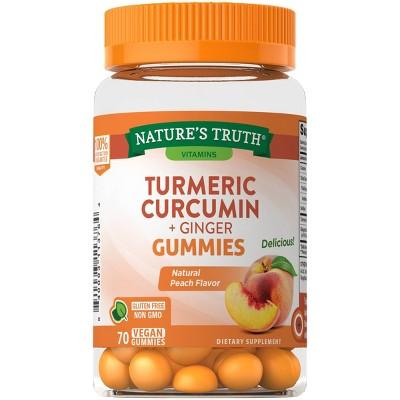 Nature's Truth Turmeric & Ginger Gummies - 70ct