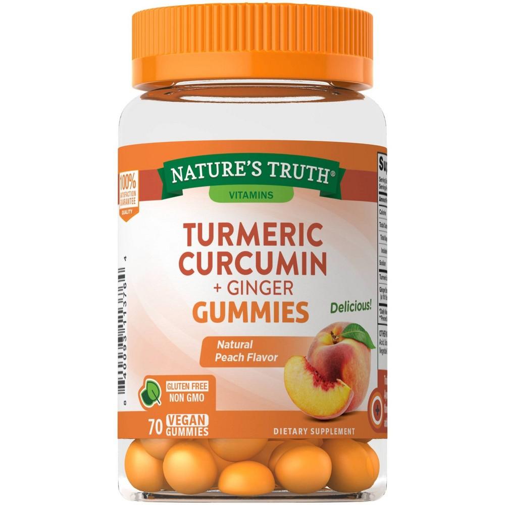 Nature 39 S Truth Turmeric 38 Ginger Gummies 70ct
