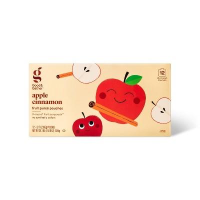 Applesauce Pouches Cinnamon - 12ct - Good & Gather™