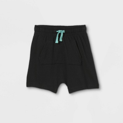 Toddler Boys' Jersey Knit Pull-On Shorts - Cat & Jack™ Black 12M