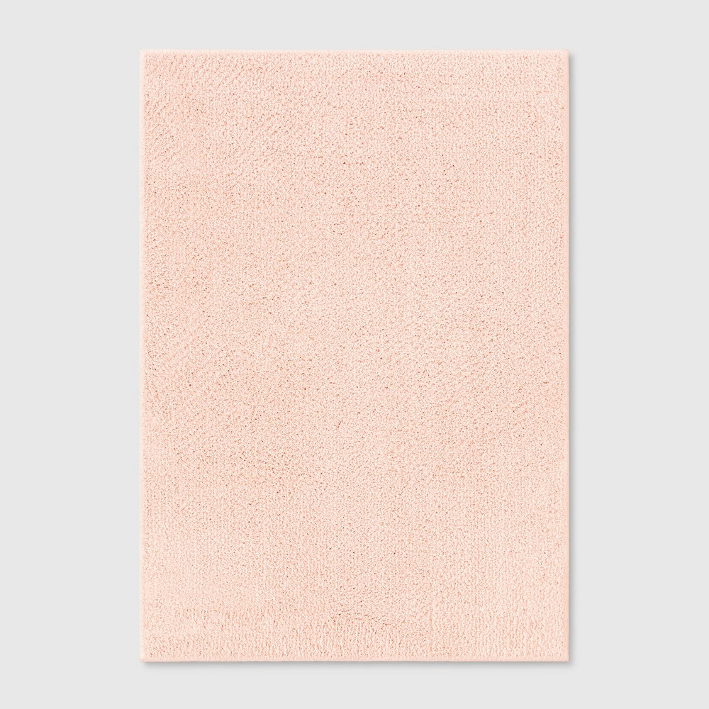 6'6X10' Solid Tufted Area Rugs Blush - Project 62