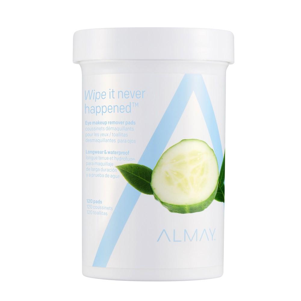 Almay Longwear & Waterproof Eye Makeup Remover Pads - 120ct