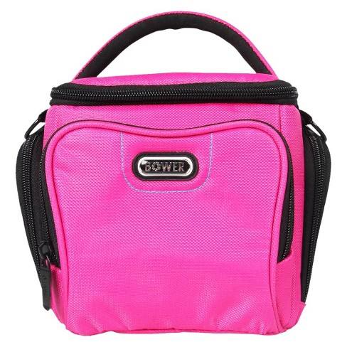 Bower Small Adjustable Dividers Dazzle Camera Accessory Bag - Pink (SCB3700) - image 1 of 2