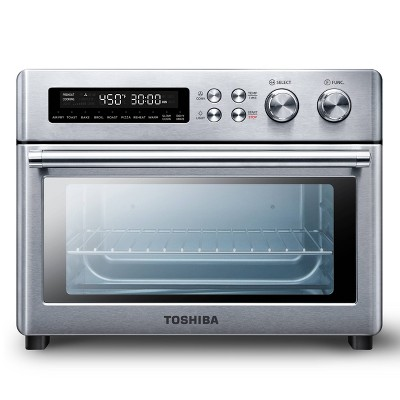 Toshiba Air Fryer Toaster Oven - Silver